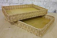 Лоток плетеный 40х60