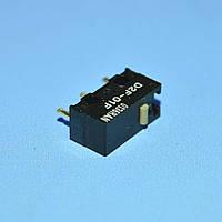 Микропереключатель 13х6х6мм D2F-01F 3pin без планки  Omron
