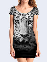Платье Морда леопарда