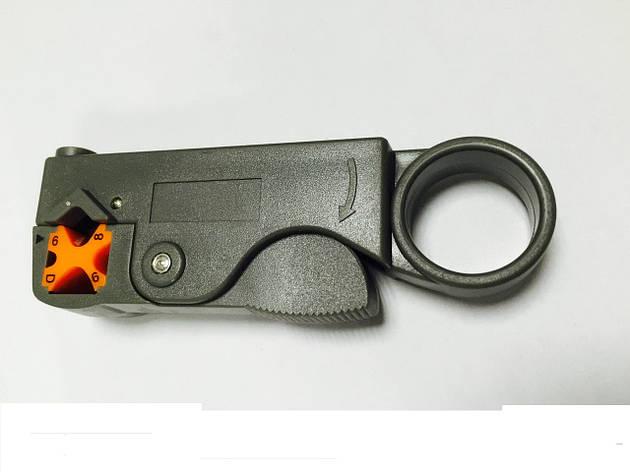 Инструмент для снятия изоляции с коаксиального кабеля, фото 2
