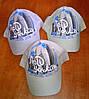 Коттоновые летние кепки для детей