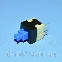 Кнопка с фиксацией положения BS-800L (аналог PBS-800) 6pin 2 группы  Canal Electronic