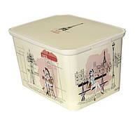 Ящик для хранения Decos Miss Paris L