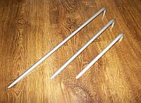 Ручка мебельная стрела алюминий Gamet