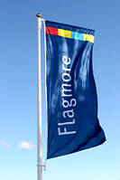 Флаг вертикальный 6600х2200, фото 1