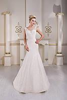 Искрящееся свадебное платье с привлекательной спинкой