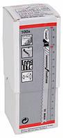 Пилки лобзиковые Bosch 100 шт T 345 XF, BIM