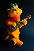 Копилка Кот с гитарой, глянец