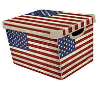 Ящик для хранения 6 л Deco`s USA flag