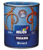 Грунт-эмаль (3 в 1) Tessarol Direct коричневая, 0.75 л