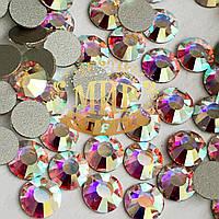 Камни Preciosa(Чехия) Цвет Crystal AB Размер ss16 (3,8-4мм) Фиксация на клей Упаковка 100шт