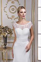 Лёгкое свадебное платье русалка с очаровательной спинкой