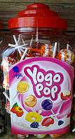 Леденцы на палочке Yogo Pop 100 штук Польша