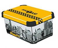 Ящик для хранения 6 л Deco`s NY CITY