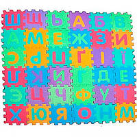 Развивающий коврик-пазлы М 0379 Алфавит укр, 36 шт
