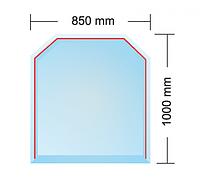 Cтекляное основание DUBLIN под камин (толщина 6 мм)