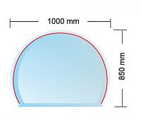 Cтеклянная подложка  MILANO под печь (толщина 6 мм)