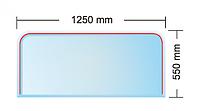 Cтекляное основание PRAHA под камин (толщина 6 мм)