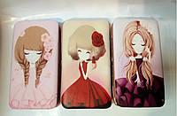 Кошелек/клатч для телефона с девочками Аниме арт.999