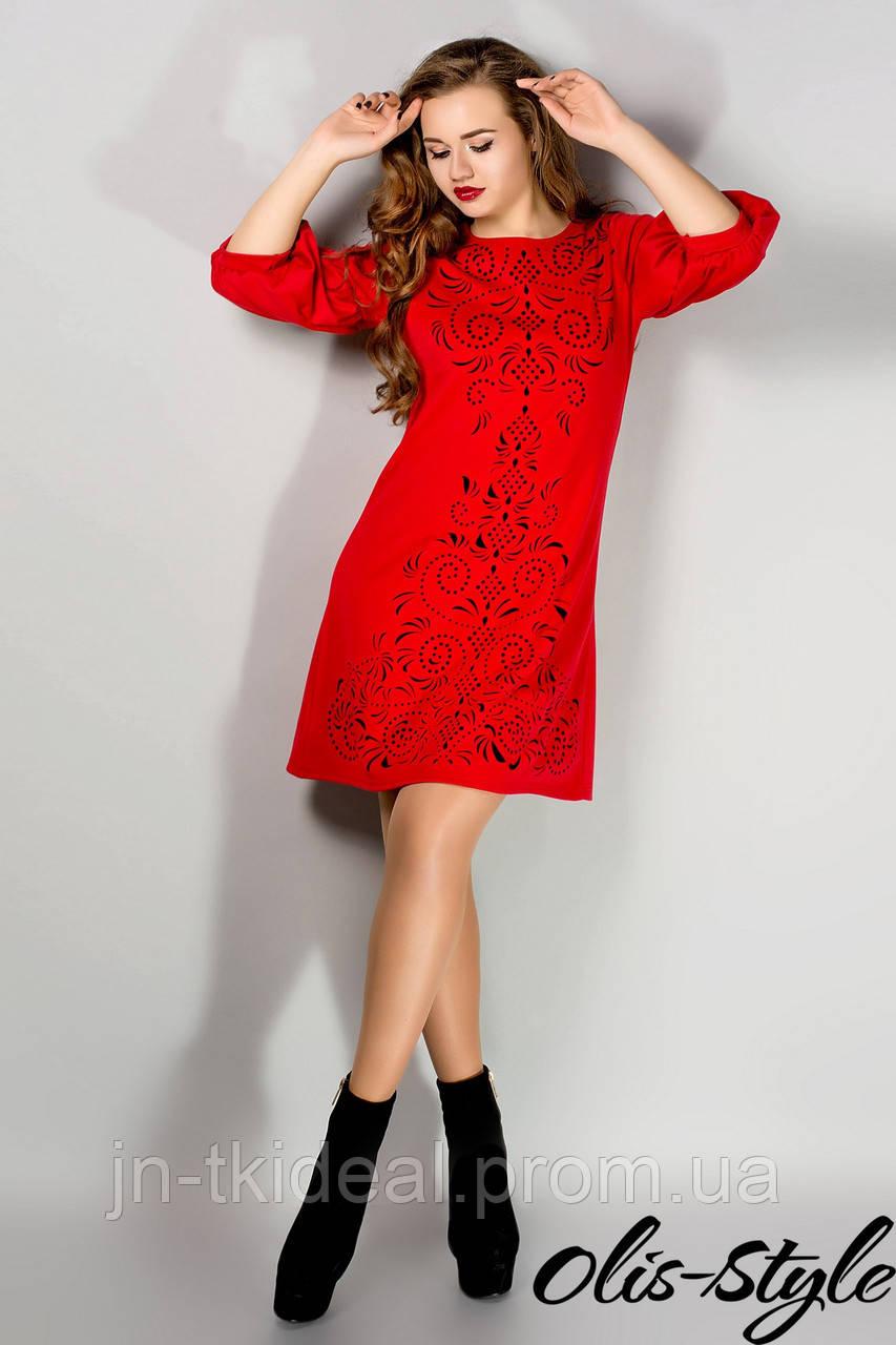 Весна в красном платье