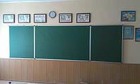 Школьная доска 4000*1000 меловая, магнитная