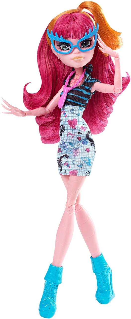 Monster High Geek Shriek Gigi Grant Doll Джиджи Грант из серии Крик Гиков