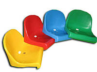 ПРОЧНЫЕ сидения (кресла) стадионные стеклопластиковые, НЕ ПЛАСТИК
