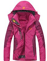 Женские куртки 3в1 JACK WOLFSKIN. Стильная верхняя одежда. Теплые куртки. Удобные куртки. Код: КДН139