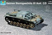 Сборная модель -  Немецкий Sturmgeschütz III Ausf. C/D 1/72
