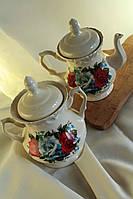 """Чайная пара """"Три розы"""""""