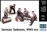 Немецкие танкисты, период Второй мировой войны 1/35