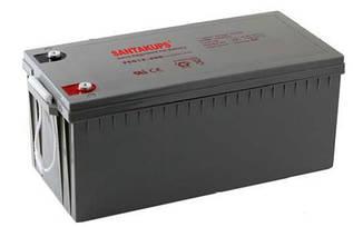 Гелевый аккумулятор Santakups FCG 12-200 (GEL)
