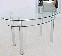 Стол стеклянный Овальный SSОII
