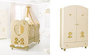 Комплект мебели для детской комнаты Baby Expert Cuore di mamma