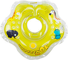 Круг для купания младенцев музыкальный Zoo Kinderenok