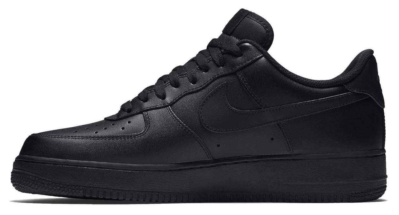 Мужские кроссовки Nike Air Force 1 Low черные - Интернет-магазин обуви и  одежды в e3e17022485