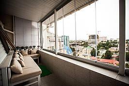 Безрамне скління балконів і лоджій