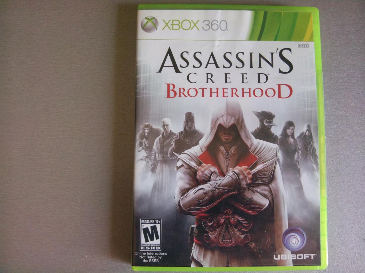 Игра xbox 360 Assassin's Creed Brotherhood регион NTSC