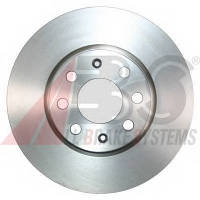 ABS - Тормозной диск передний Fiat Grande Punto (Фиат Гранде Пунто) 1.2 Бензин/автогаз (LPG) 2008 -  (17710)