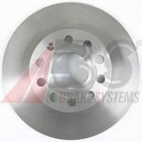 ABS - Тормозной диск задний Seat Toledo (Сеат Толедо) 1.8 бензин 2007 - 2009 (17547)