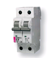Авт. выключатель ETIMAT 6  1p+N С 10А (6 kA)