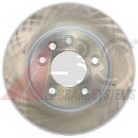 ABS - Тормозной диск передний (левый) PORSCHE CAYENNE Turbo бензин 2002 - 2007 (17500)