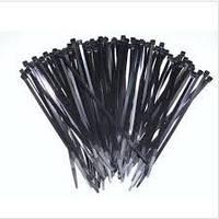 Нейлоновые стяжки 2.5х150mm черные (100 шт) высокое качество. диапазон рабочих температур: от -45С до +80С