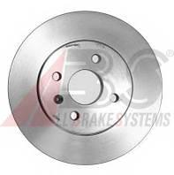 ABS - Тормозной диск задний OPEL MERIVA 1.7 Дизель 2003 - 2010 (17523)