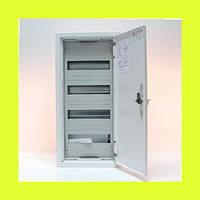 Распределительный навесной металлический шкаф ABB AT41 48M IP43 324х674х140 4 ряда
