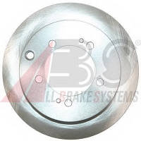 ABS - Тормозной диск задний MITSUBISHI ECLIPSE 2000 бензин 1995 - 1999 (17432)