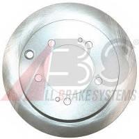 ABS - Тормозной диск задний MITSUBISHI LANCER 2.0 бензин 2003 - 2007 (17432)