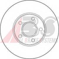 ABS - Тормозной диск передний FORD TRANSIT 1.8 Бензин/автогаз (LPG) 2002 -  (17416)