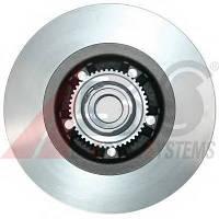 A.B.S. - Тормозной диск задний (с подшипником) Renault Trafic (Рено Трафик)   (17330c)
