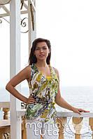 Блуза шифоновая с майкой - Зеленая Колдунья